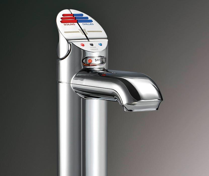 aufbereitetes trinkwasser direkt aus der armatur kochend gekühlt