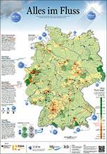 """Poster """"Alles im Fluss- eine deutsche Wasserbilanz"""""""