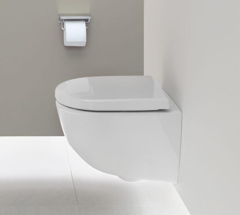 Innovativ Kompakt-WC, Barrierefrei-WC und kubisches WC mit randloser  ZY07