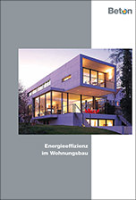 """Broschüre """"Energieeffizienz im Wohnungsbau"""" von BetonMarketing"""