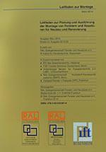 Leitfaden zur Planung und Ausführung der Montage von Fenstern und Haustüren