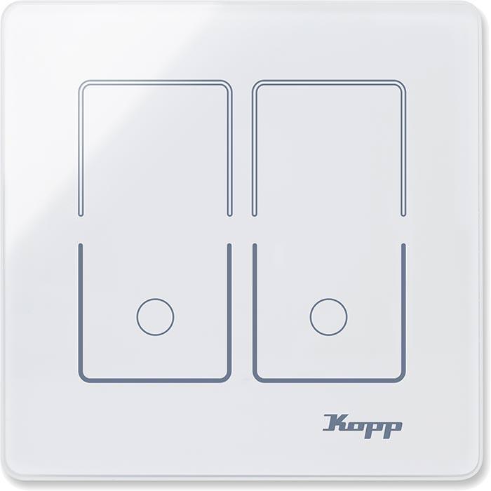 Glas-Sensorschalter für Standard-Schalterdosen (230 V) neu von Kopp