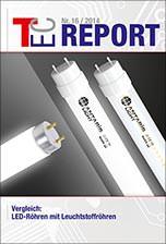 """TEC-Report 16/2014, """"Vergleich LED-Röhren mit Leuchtstoffröhren"""""""