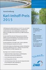 Karl-Imhoff-Preis als DWA-Umweltpreis ausgeschrieben