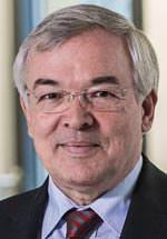 Prof. Thomas Bauer, Präsident des Hauptverbandes der Deutschen Bauindustrie