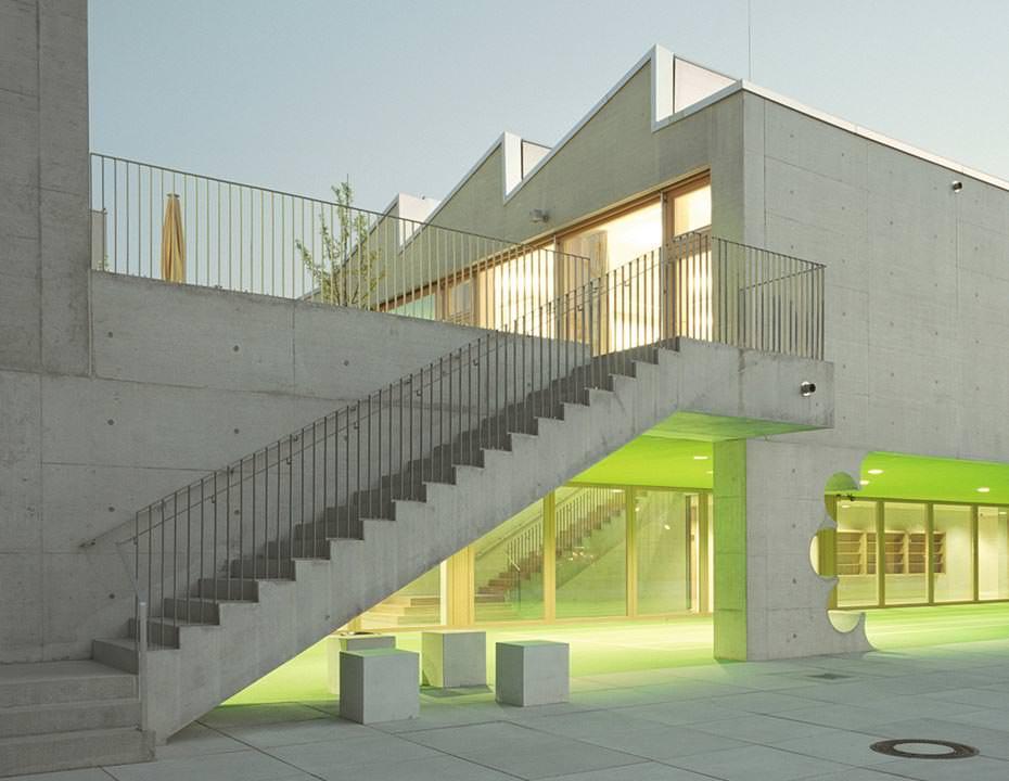 architekturpreis beton 2014 f r grundschule am arnulfpark m nchen. Black Bedroom Furniture Sets. Home Design Ideas