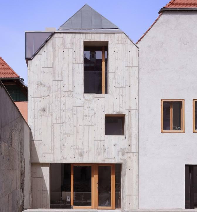 architekturpreis beton 2014 f r haus ber der gasse passau. Black Bedroom Furniture Sets. Home Design Ideas