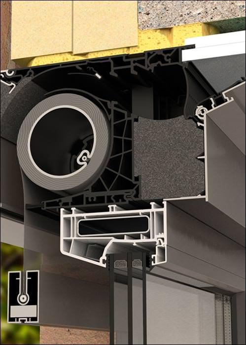Renson Fixvent Mono AKD<sup>EVO</sup> vereint Fensterlüftung und Sonnenschutz