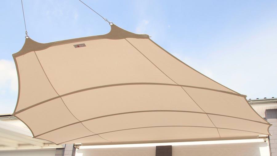 ausgezeichnetes elips4sun sonnensegel mit heimeliger w lbung. Black Bedroom Furniture Sets. Home Design Ideas