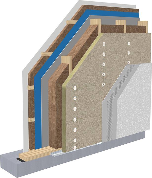 tektalan robuste holzwolle mehrschichtplatte f r au enw nde in holzbauweise. Black Bedroom Furniture Sets. Home Design Ideas