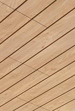 Einhängedecke im Schiffsverband mit Holzoberfläche