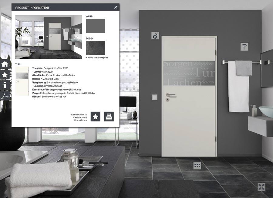 t ren konfigurator von westag getalit beherrscht mehr als varianten. Black Bedroom Furniture Sets. Home Design Ideas