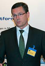 Dr. Norbert Gaag vom Halbzeughersteller Diehl Metall Messing