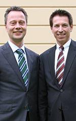BVKSI Vorstandvorsitzender Bernhard Göcking und Geschäftsführer Roland Meißner