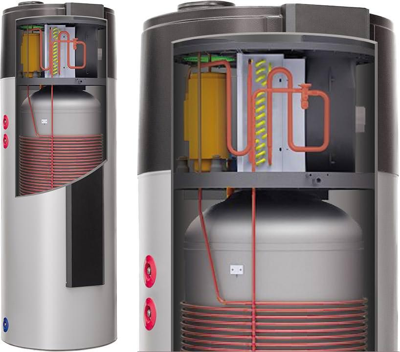 warmwasser w rmepumpe neu von remko trinkwasser w rmepumpe serie rbw 300 pv. Black Bedroom Furniture Sets. Home Design Ideas