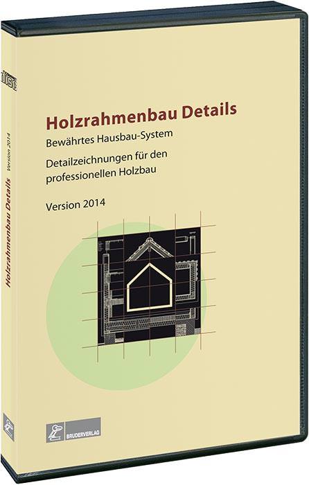 """Holzrahmenbau konstruktionsdetails  Über 370 CAD-Detailzeichnungen auf der CD-ROM """"Holzrahmenbau Details"""""""