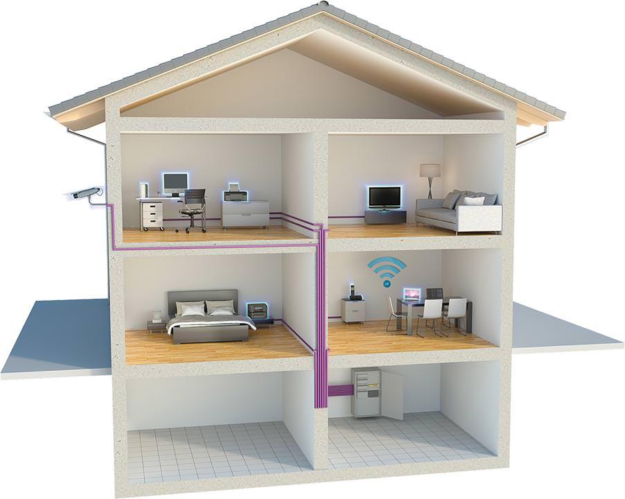 datalight pof daten und energieversorgung mit einem nicht ganz leeren leerrohr. Black Bedroom Furniture Sets. Home Design Ideas