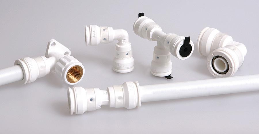 Kunststoff wasserleitung system
