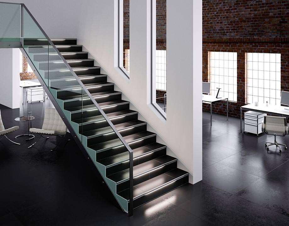neue liprotec sets led profile für treppen und spiegel