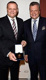 Andreas Engelhardt und Laudator Dr. Stephan Kufferath