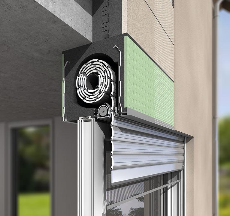 Wie Ein Aufsatz Rollladenkasten Fenster Stabilisiert