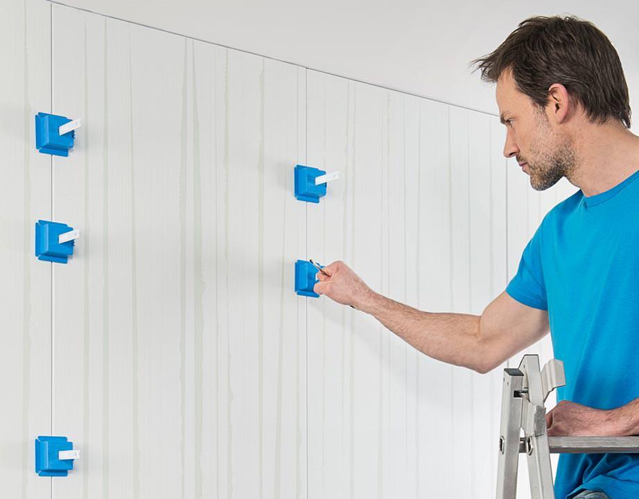 perfectwall komplettwandsystem mit wohnfertiger oberfl che aus dem baumarkt. Black Bedroom Furniture Sets. Home Design Ideas