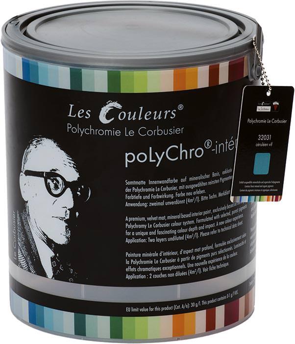 le corbusier farben manufactured by keim polychro les couleurs le corbusier. Black Bedroom Furniture Sets. Home Design Ideas