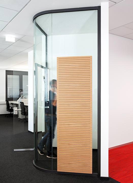 curved nurglas trennwand fecoplan bekommt die kurve. Black Bedroom Furniture Sets. Home Design Ideas