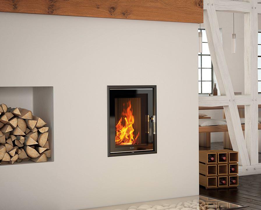 saubere sache kachelofen heizeinsatz mit hinterlader funktion. Black Bedroom Furniture Sets. Home Design Ideas