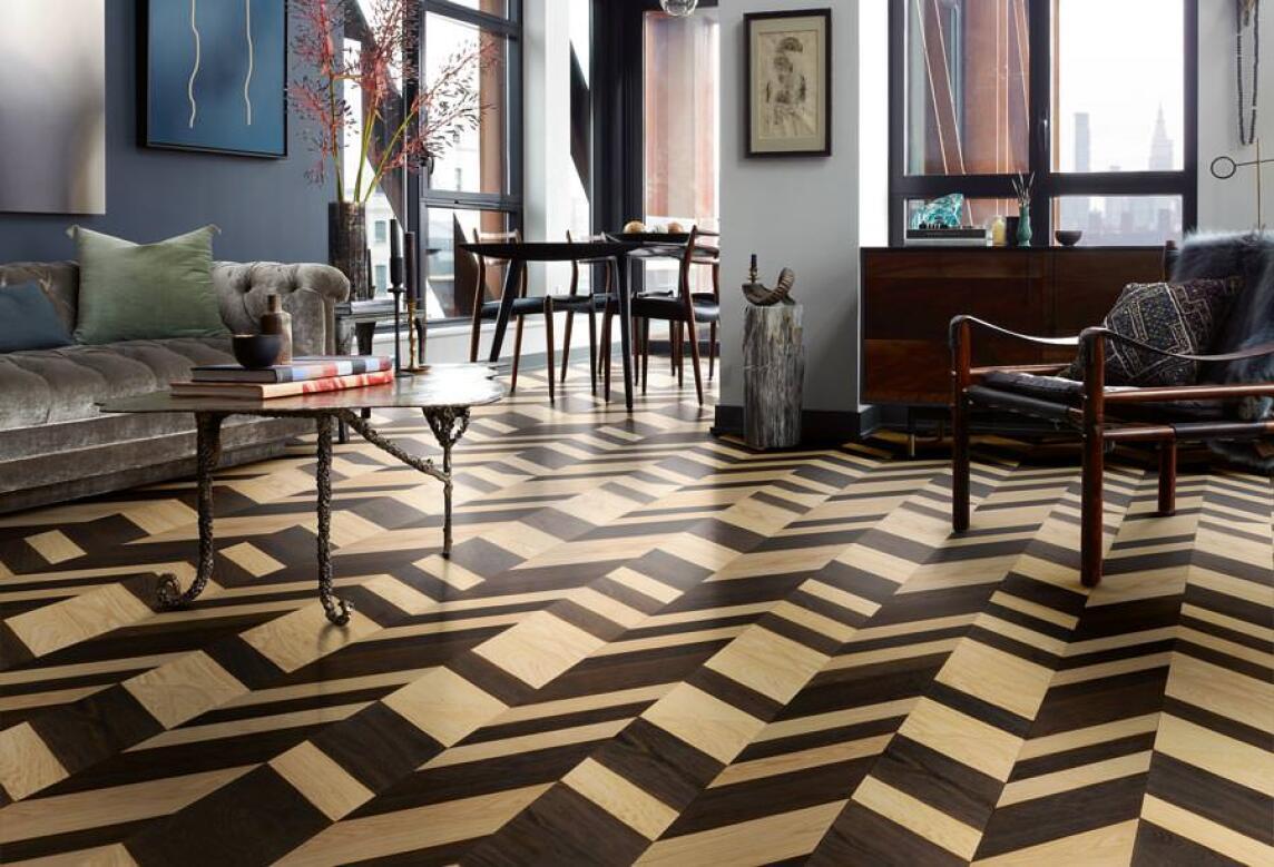 Hervorragend Designer-Laminat- und -Parkett-Edition by Hadi Teherani TD14