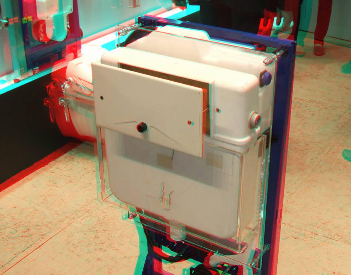 Stereobild: Unterputz-Spülkasten