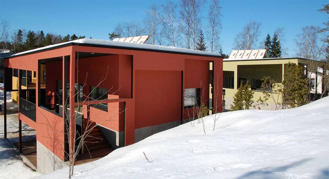 Oravarinne Passive Houses
