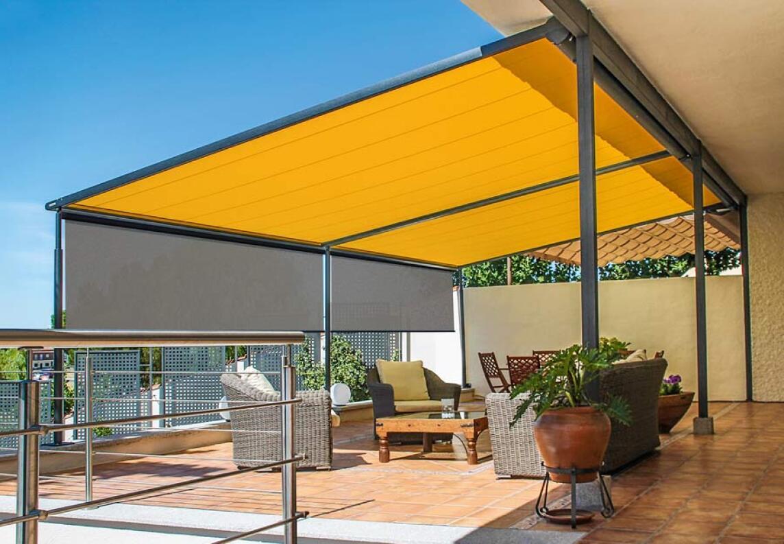 Pergola Markise Von Markilux Mit Zweifachem Sonnenschutz