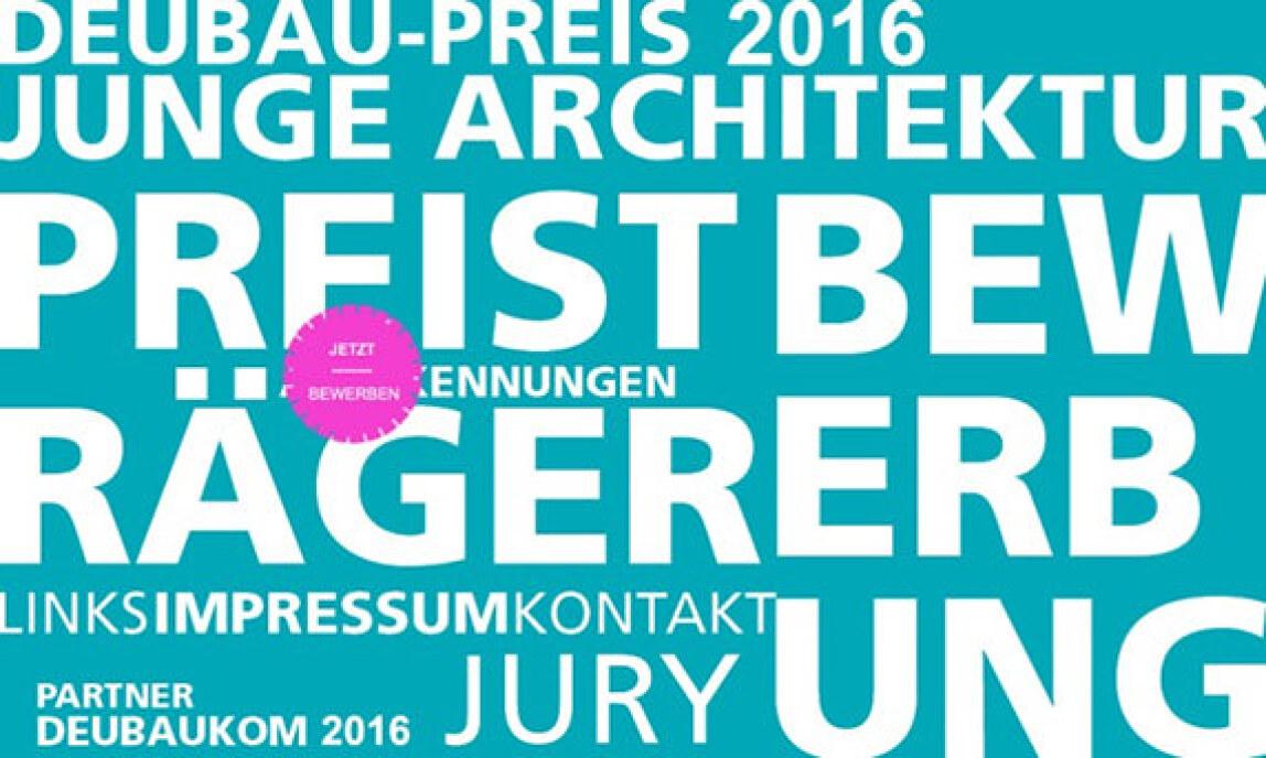 Deubau-Preis 2016