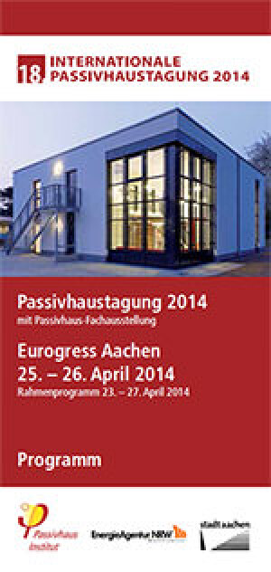 Programm der Internationalen Passivhaustagung 2014