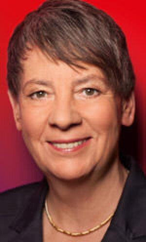 Bundesumwelt-, Bundesnaturschutz-, Bundesbau- und Bundesreaktorsicherheits-Ministerin Dr. Barbara Hendricks