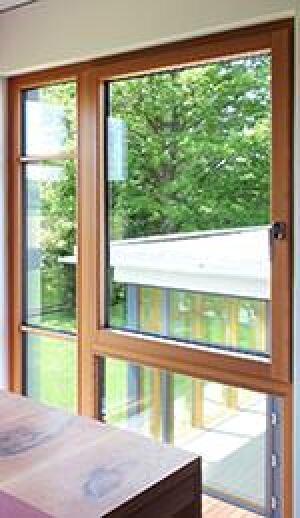 Aluminium-Holz-Fenster