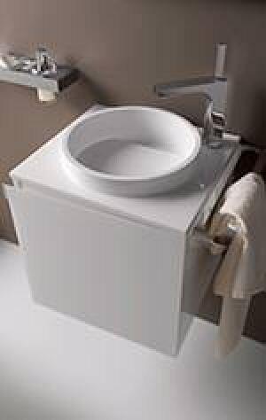 speziell f rs g stebad ablageplatte mit integriertem waschbecken aus mineralguss. Black Bedroom Furniture Sets. Home Design Ideas
