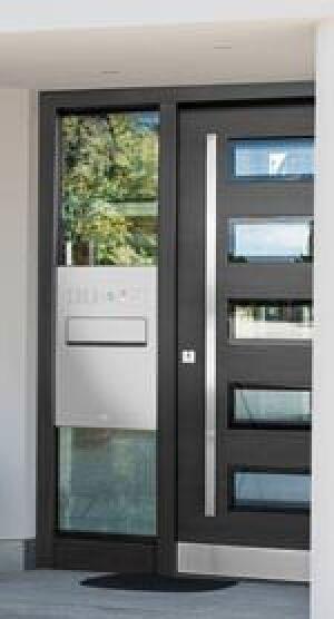 Türseitenteil-Briefkastenanlagen von Renz