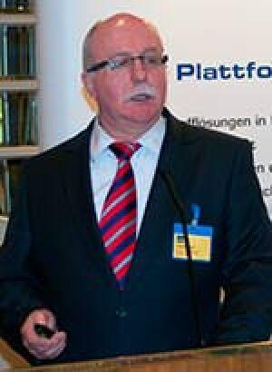 Uwe Dietrich vom Armaturenhersteller Dornbracht
