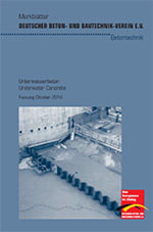 "DBV-Merkblatt ""Unterwasserbeton"""