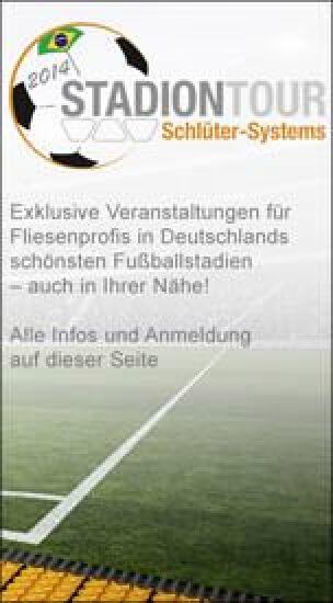 Schlüter-Systems Stadiontour 2014