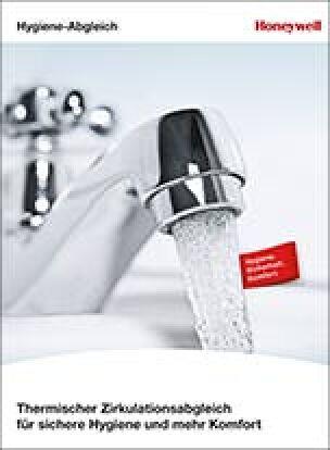 """Broschüre """"Thermischer Zirkulationsabgleich für sichere Hygiene und mehr Komfort"""""""