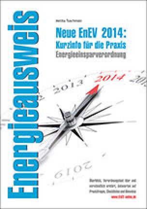 """Broschüre """"Neue EnEV 2014: Kurzinfo für die Praxis"""" der Stuttgarter Architektin Melita Tuschinski"""