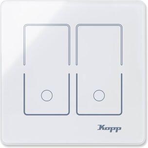 Kopp Glasschalter HK i8 : Doppel-Schalter
