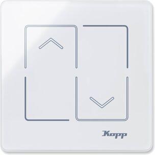 Kopp Glasschalter HK i8 : Jalousieschalter