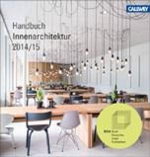 BDIA Handbuch Innenarchitektur 2014/2015