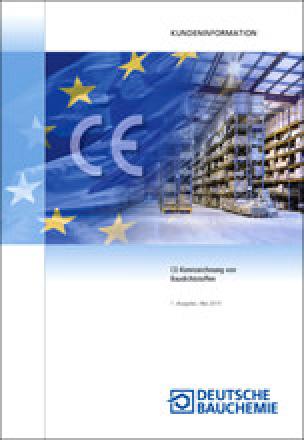Infoschrift zur CE Kennzeichnung von Baudichtstoffen