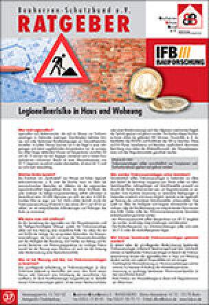 Legionellenrisiko in Haus und Wohnung