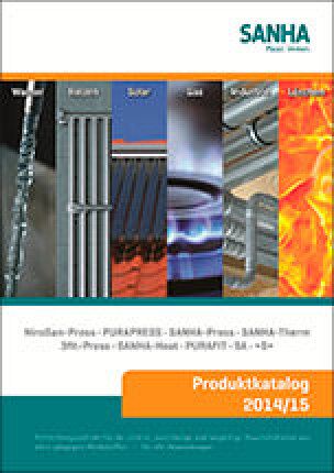 Sanha-Produktkatalog